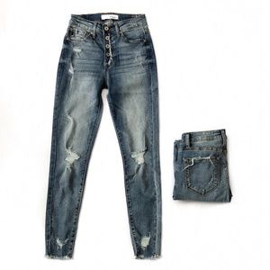 KanCan medium distressed jeans